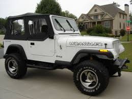 1995 jeep wrangler lifted white jeep wrangler yj 1987 1995