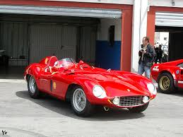 ferrari lifted ferrari 750 monza 1954 1955 v12 250bhp ferrari from the past