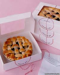 personalized pie boxes baby shower favors martha stewart