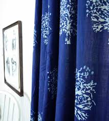 tree block print curtain home decor u0026 lighting ichcha