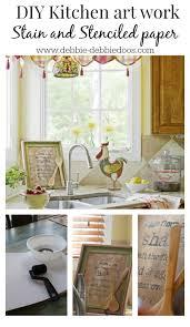 kitchen stencil ideas stencil project diy work debbiedoo s