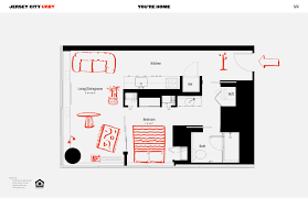 Skyscraper Floor Plan by Rentals At Urby U0027s Jersey City Skyscraper Hit The Market From