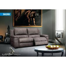 canapé relax simili cuir canape relax simili cuir canapac design en coloris marron 3 places