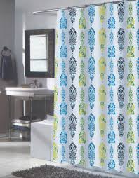 carnation home fashions inc extra long fabric shower curtains
