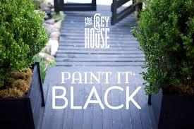 restyling a garden house paint it black blog roger chris