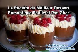 recette cuisine facile pas cher la recette du meilleur dessert romantique facile et pas cher