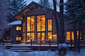 Luxury Cabin Homes Jackson Hole Wyoming Cabins Cabin Rentals Alltrips