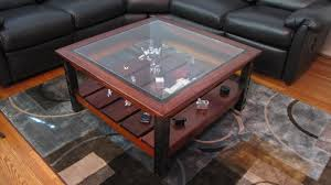 Glass Display Coffee Table Display Coffee Table Build Album On Imgur