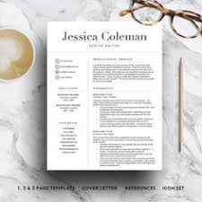 a professionally designed teacher resume template created by a