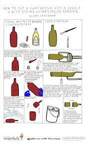 how to cut glass how to cut glass bottles in half using and glass