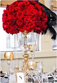 Red Rose Table Centerpieces by Best 25 Red And Black Table Decorations Ideas On Pinterest
