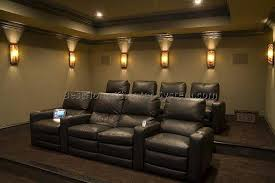 home theater recliners home theater seating setup 6 best home theater systems home