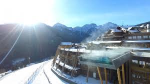 Trentino Outdoor Fireplace by Alpin Panorama Hotel Hubertus In Valdaora Trentino Alto Adige