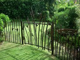 metal garden gates with locks home outdoor decoration