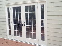 Garage Door Conversion To Patio Door Before After Replacement Door Photos Exovations