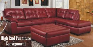 red leather sofa 4353