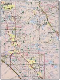 Map Sacramento Sacramento County
