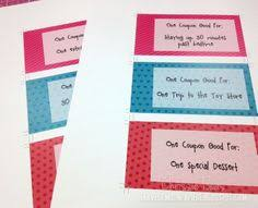 valentine u0027s day coupon book for kids or adults such a cute gift