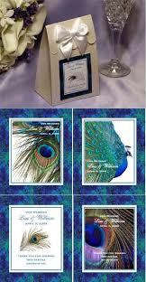 peacock favors 166 best peacock wedding favors ideas images on