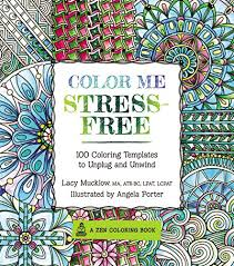 7 coloring books stress anxiety