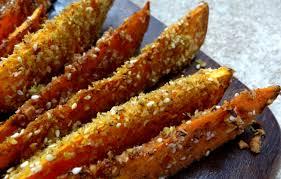 cuisiner les patates douces wedges de patates douces aux graines niger la tendresse en cuisine