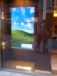best of digital signage errors italian brand ermenegildo zegna easily pays the rent in vienna s most exclusive location yet they still have to burn their cds in the shopping window df