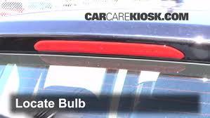 High Mount Brake Light Third Brake Light Bulb Change Volkswagen Tiguan 2009 2016 2013