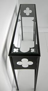 Quatrefoil Console Table Gothic Furniture Co Uk Gothic Minimalist Beds