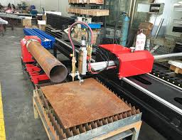 xg 300j cnc pipe profiling and plate cutting machine 3 axis