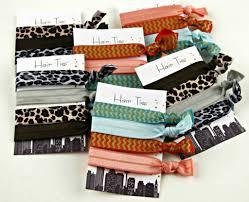 elastic hair ties simple knotted elastic hair ties frugal upstate
