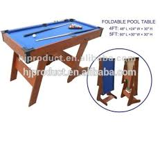 4ft pool table folding 4ft 5ft foldable billiard table pool table for kids on sale buy