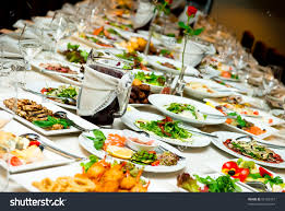 table full of food table full of food clipart clipartxtras