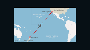 United Flight Map American Airlines Sets Up Direct L A Auckland Route Cnn Travel