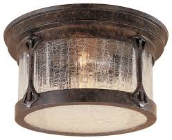 Rustic Ceiling Lights Rustic Flush Mount Ceiling Lights Lake 12 Flushmount Rustic