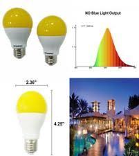 no bug light bulb 60watt amber yellow led bug light bulb 2 pack no blue light outdoor