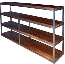 Industrial Metal Bookshelf Furniture Home Wood Metal Bookcase Inspirations Unique Furniture