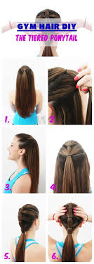 gymnastics picture hair style 18 ingenious hair hacks for the gym