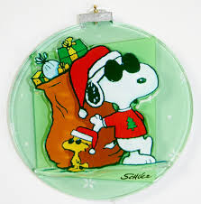 peanuts snoopy and woodstock ornament