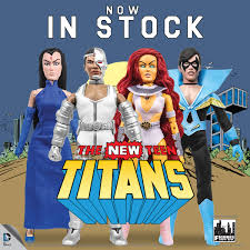 now in stock u2013 the new teen titans and shazam series one mego