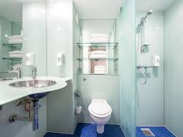 Bathroom With Shower Looks Like Something Out Of Gothem Advertising Photo