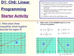 high linear programming resources