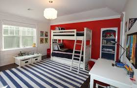 Bunk Bed Boy Room Ideas Best Bedroom Colors Blue And Boys Bedroom In White And