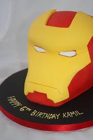 iron man cake vanilla bean cake company