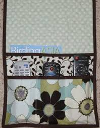 Armchair Organizers Quilted Armchair Caddy Bedside Caddy Remote Holder Bluebirds