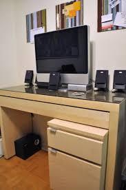 Office Desk Keyboard Tray Dressing Table To Keyboard Tray Desk Ikea Hackers