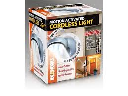Motion Activated Cordless Light Outdoor Illuminate Steps Porches Patios And More With The Motion