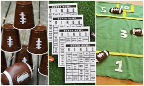 super bowl party game ideas football party ideas