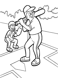 baseball coloring pages cool coloring 95 unknown