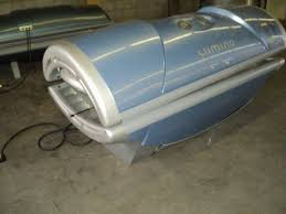 Prosun Tanning Bed 2004 Prosun Model 3002 Tanning Bed 220 Volts 25 Amps 60 Hertz