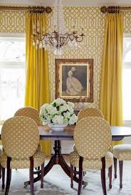 best dining room wallpaper ideas gold shades crystal chandelier